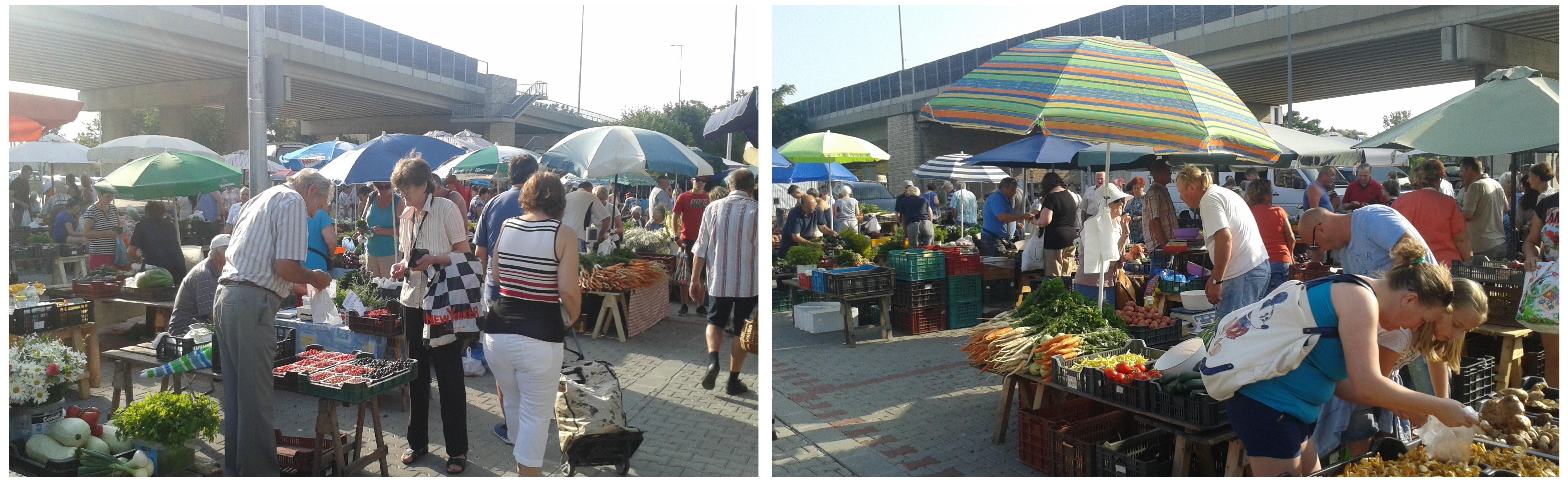Tarcsay úti piac - Győr