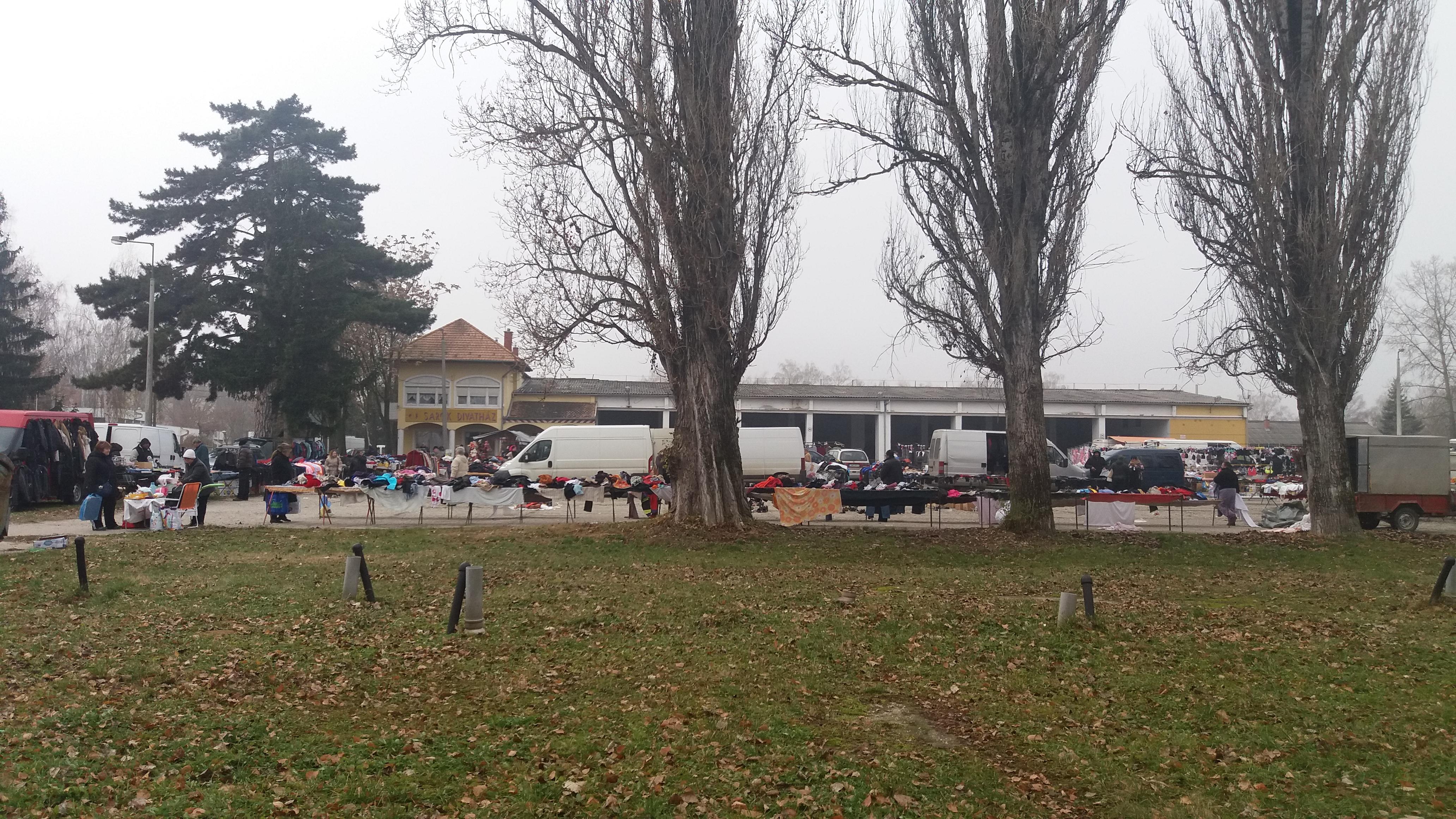 Piaccsarnok, élelmiszerpiac - Marcali