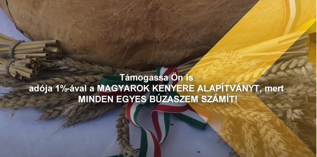 Adója 1%-ával támogassa Ön is a Magyarok Kenyere Alapítvány munkáját!