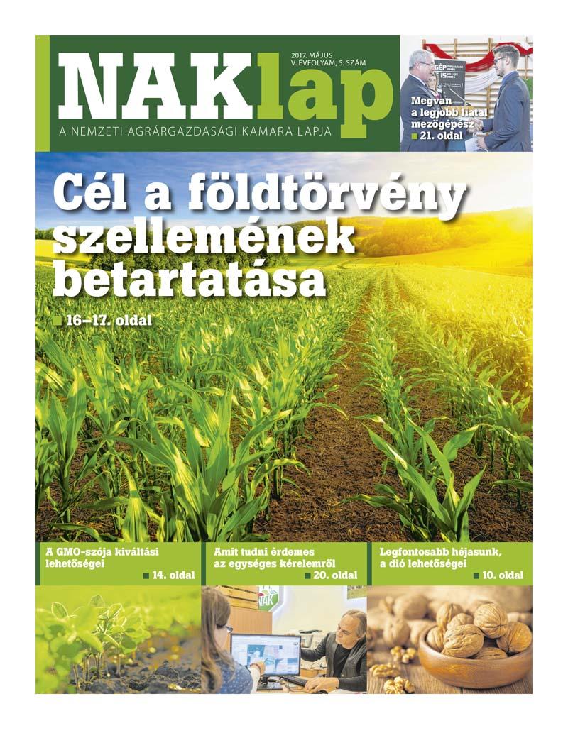NAKlap 2017. május V. évf. 5