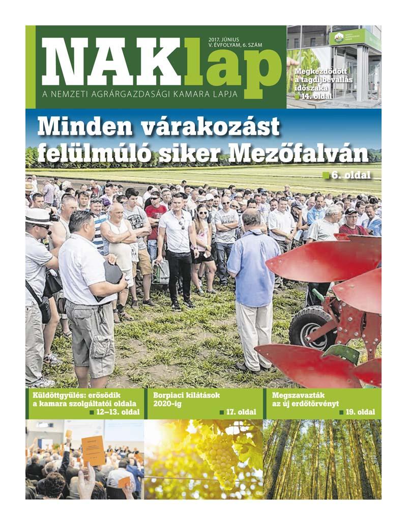 NAKlap 2017. június V. évf. 6