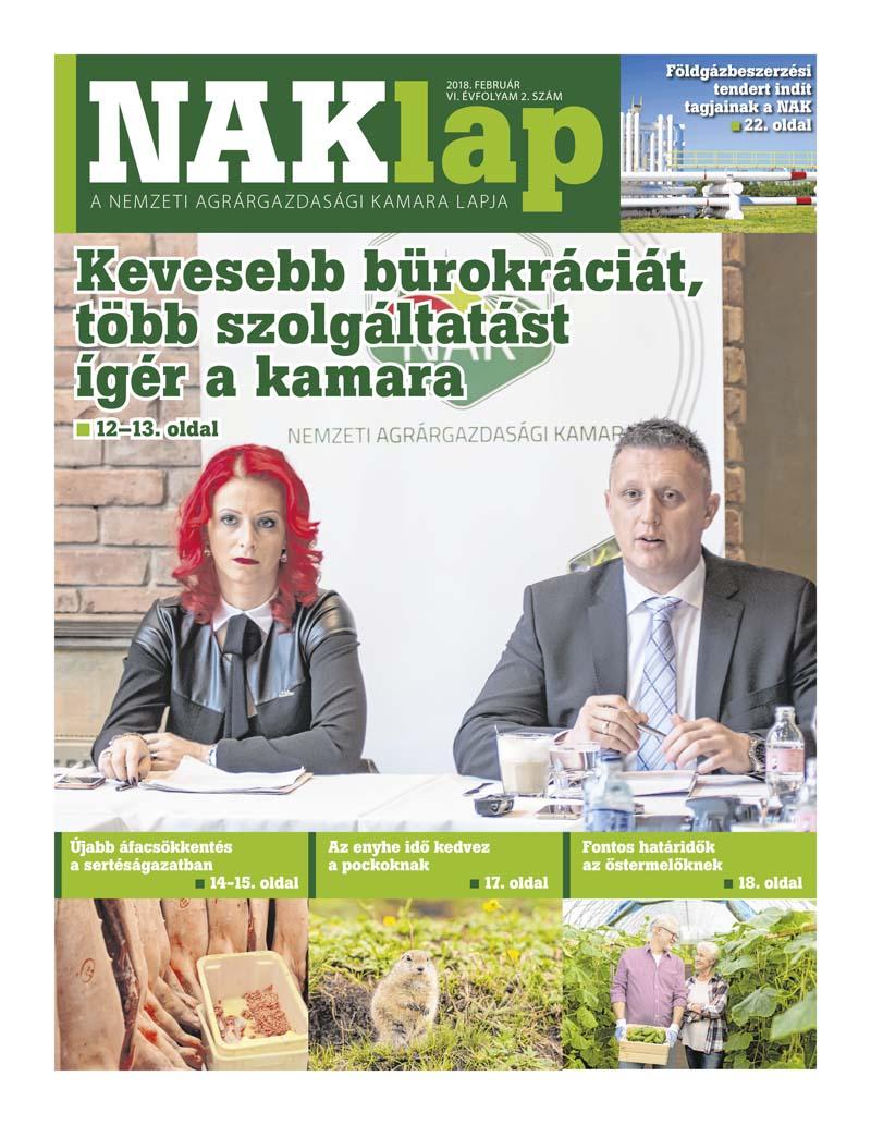 NAKlap 2018. február VI. évf. 2